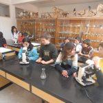 Aula de ciencias. Colegio de Nuestra Señora del Puy