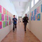 Pasillos. Colegio de Nuestra Señora del Puy