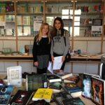 Rosina y Leyre, presentadoras del evento