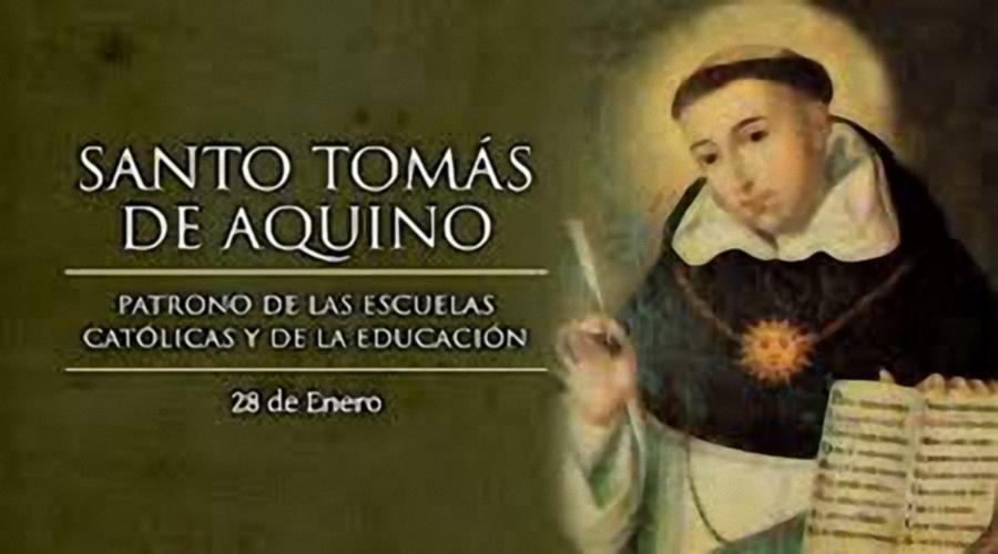 El Colegio Celebra La Festividad De Santo Tomas De Aquino