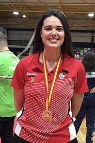 Nuestra exalumna, Nelly Iriberri, medalla de bronce en el Campeonato de España